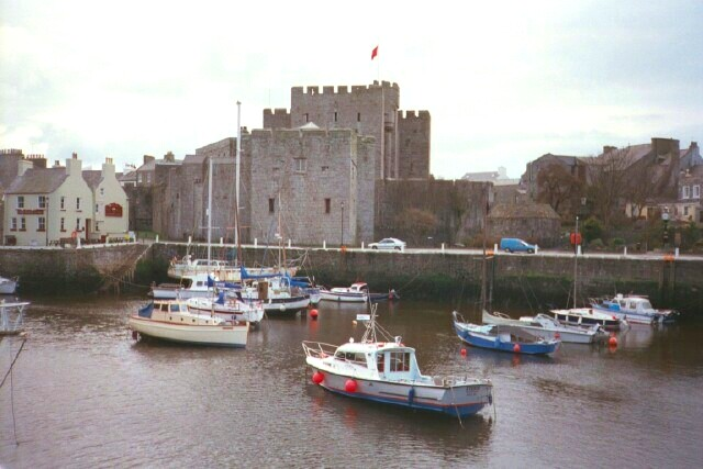 Castletown - Castle Rushen and harbour